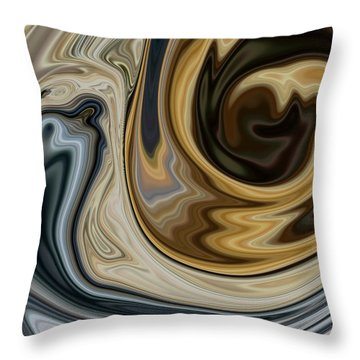 Man Vs Time Throw Pillow