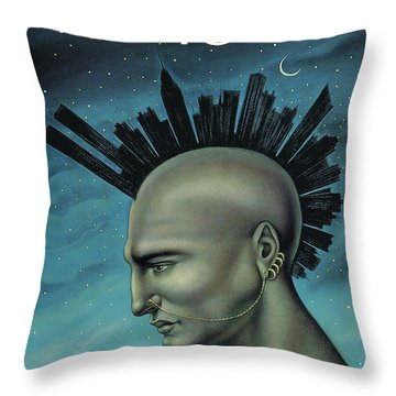 Mohawk Manhattan Throw Pillow