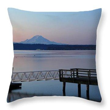 Manchester Pier Throw Pillow