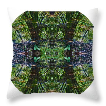 Mandala 01 Throw Pillow
