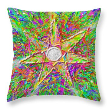 Mandala 1 22 2015 Throw Pillow