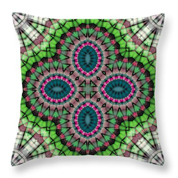Mandala 111 Throw Pillow