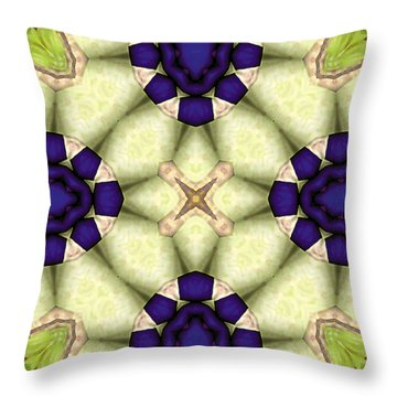 Mandala 115 Throw Pillow by Terry Reynoldson