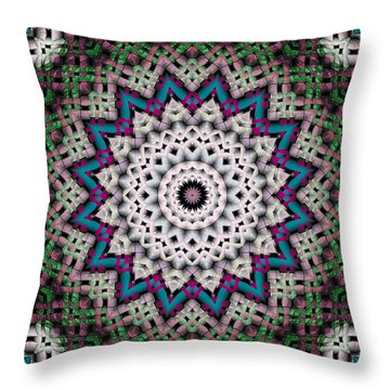 Mandala 37 Throw Pillow