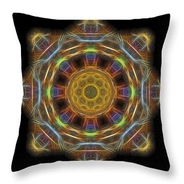 Mandala Of Light 1 Throw Pillow