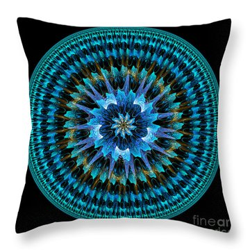 Mandala Of Peace Throw Pillow