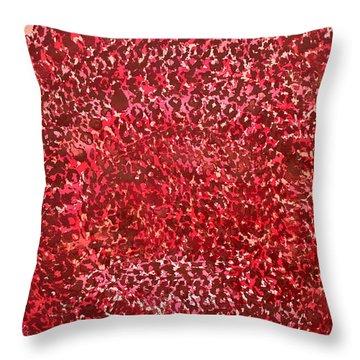 Mandala Sun Original Painting Throw Pillow