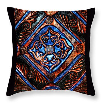 Mandala Throw Pillow by Susanne Still