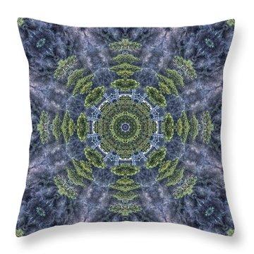 Mandala41 Throw Pillow