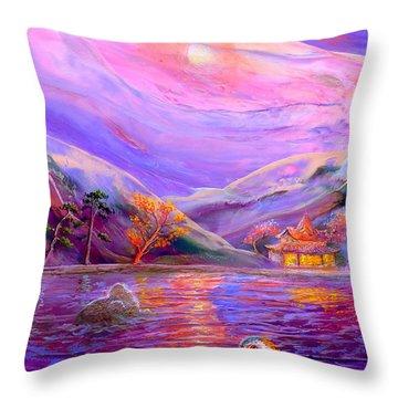 Mandarin Dream Throw Pillow