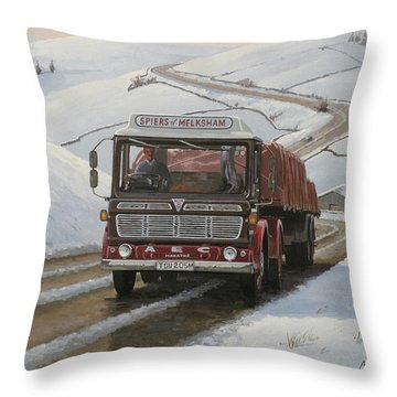Mandator On Shap. Throw Pillow by Mike  Jeffries