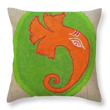 Mangalmurti Moraya Throw Pillow
