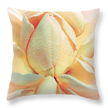Mango Smoothie Throw Pillow by Darlene Kwiatkowski