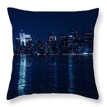 Manhattan Throw Pillow by Mark Ashkenazi