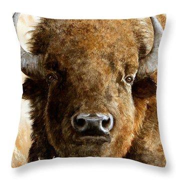 Manifest Destiny  Sold Throw Pillow