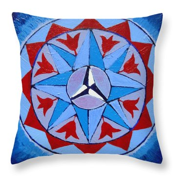 Manifested Order Throw Pillow