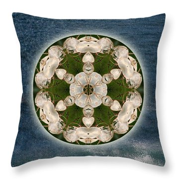 Manifesting Abundance Throw Pillow