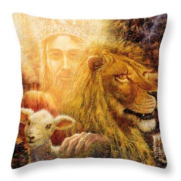 Manifold Majesty Throw Pillow