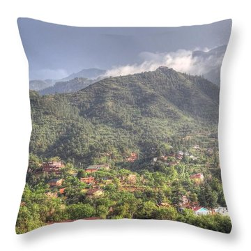 Throw Pillow featuring the photograph Manitou To The South I by Lanita Williams