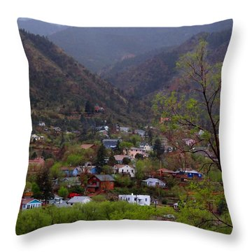 Throw Pillow featuring the photograph Manitou To The South IIi by Lanita Williams