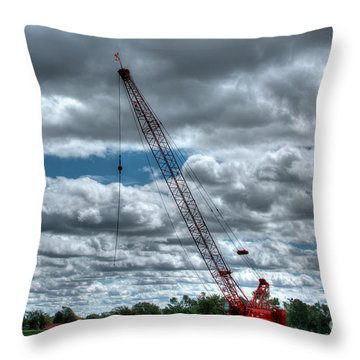 Manitowoc Throw Pillow by M Dale
