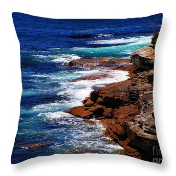 Manley 2 Throw Pillow by Ben Yassa