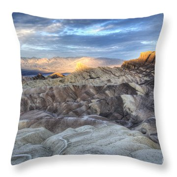 Manly Beacon Throw Pillow
