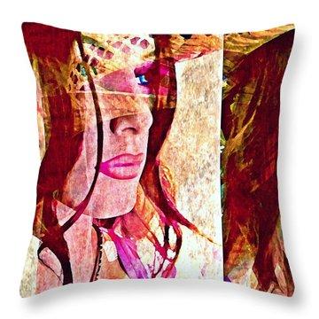Mannequin 8 Throw Pillow