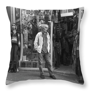 Mannequin Throw Pillow