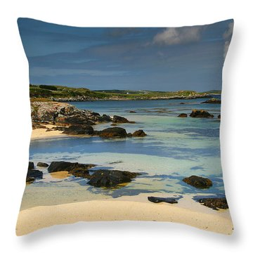 Mannin Bay Ireland Throw Pillow
