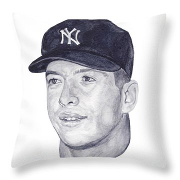 Mantle Throw Pillow