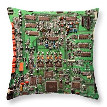 Marantz Amplifier Main Board Throw Pillow