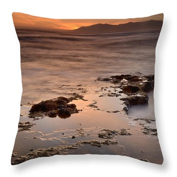 Marbella Spain Throw Pillow by Guido Montanes Castillo