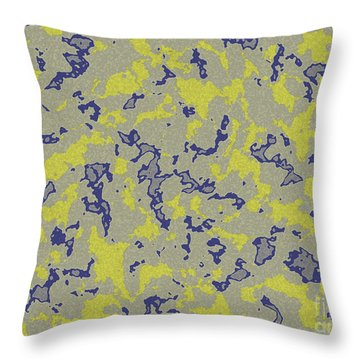 Marble  Throw Pillow by Lali Kacharava