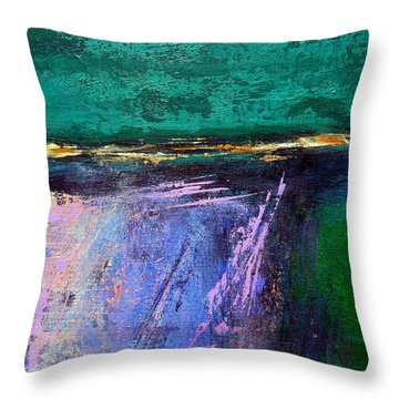 March Crossing Throw Pillow