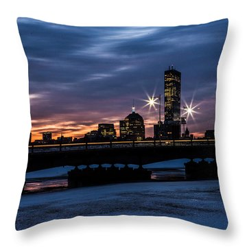 March Sunrise Throw Pillow