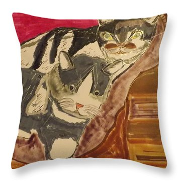 Marco And Polo Throw Pillow