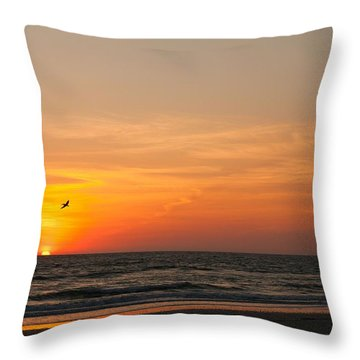 Marco Sunset Throw Pillow