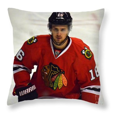 Throw Pillow featuring the photograph Marcus Kruger by Melissa Goodrich