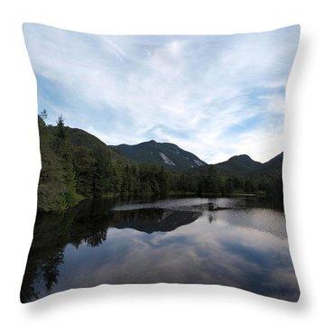Marcy Dam Pond Throw Pillow