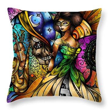 Mardi Gras 2014 Throw Pillow