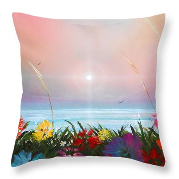 Marflo 3 Throw Pillow by Angel Ortiz