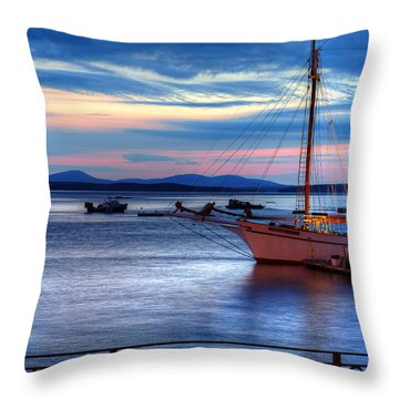 Margaret Todd At Sunrise Throw Pillow