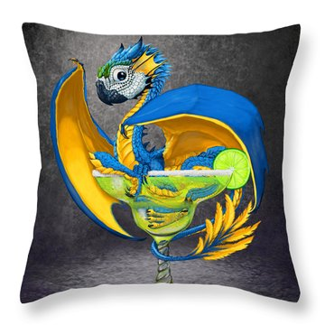 Margarita Dragon Throw Pillow