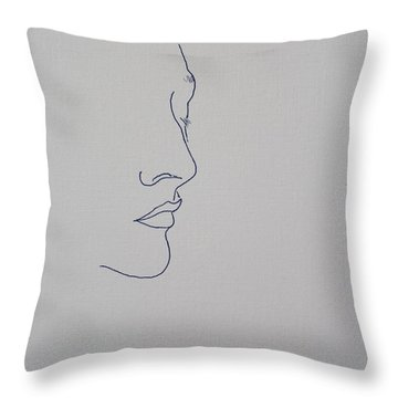 Margarita Fifty Six Throw Pillow by Vernon Holt