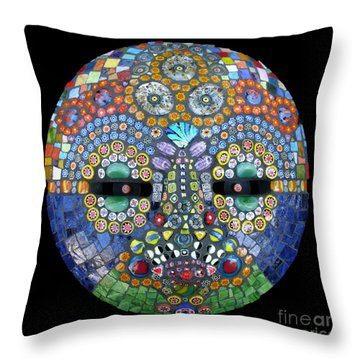 Marge Throw Pillow by Valerie Fuqua