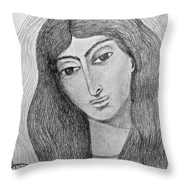 Maria Magdalena Throw Pillow