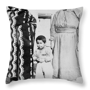 Throw Pillow featuring the photograph Maria Martinez (1887-1980) by Granger