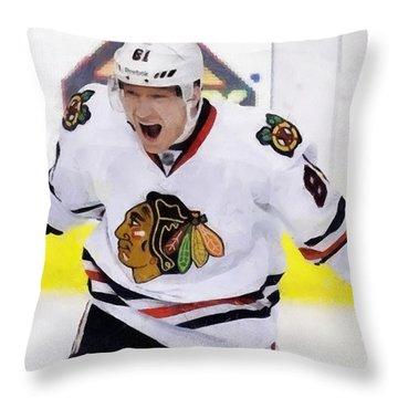 Marian Hossa Throw Pillow