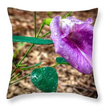 Throw Pillow featuring the photograph Mariana by Rob Sellers